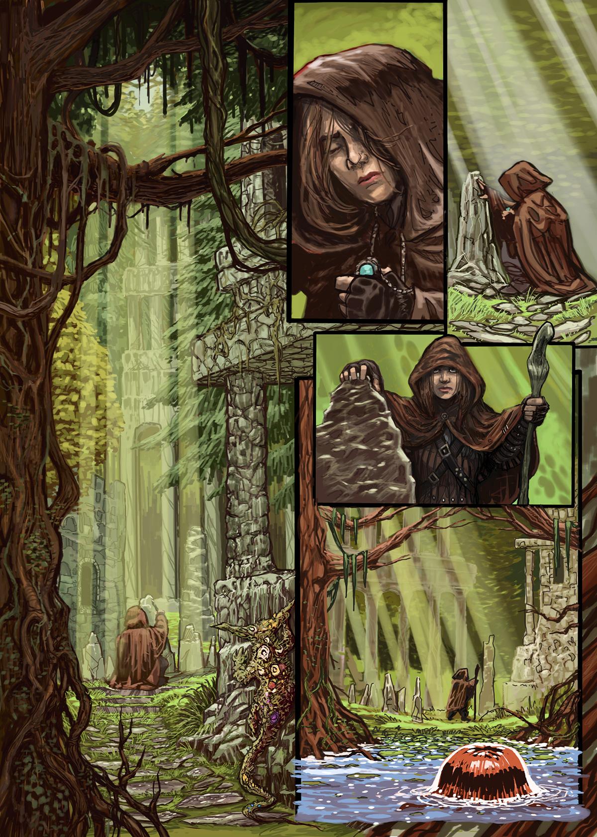 01- Caballeros del Temple - El Comic
