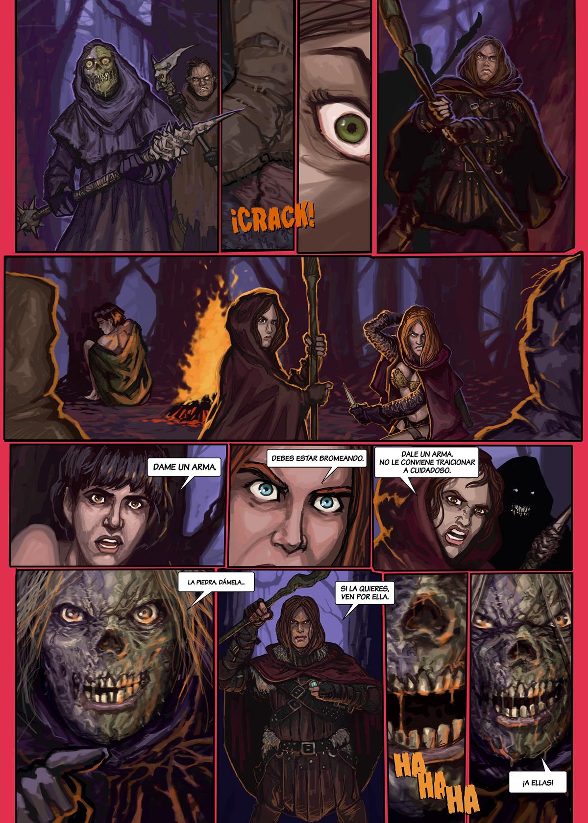 07- Caballeros del Temple - El Comic