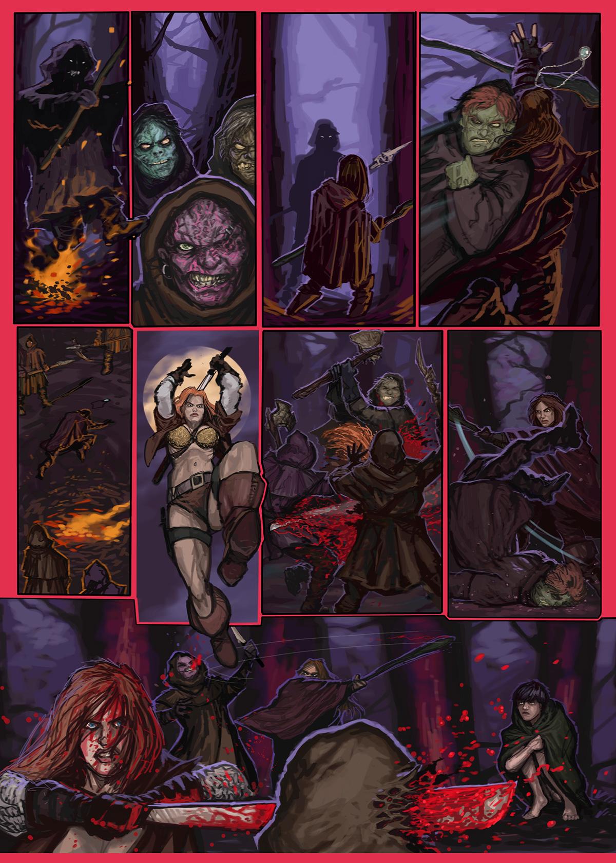 08- Caballeros del Temple - El Comic