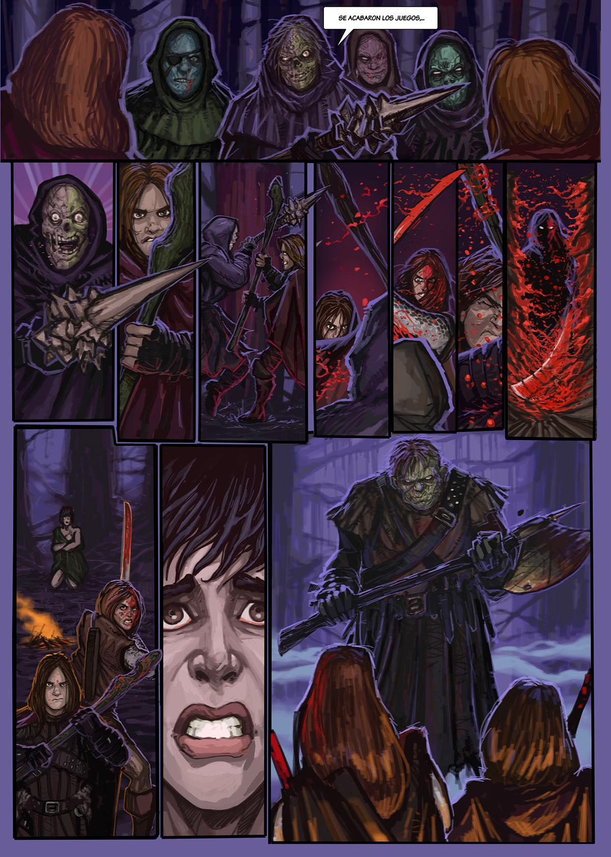 09- Caballeros del Temple - El Comic