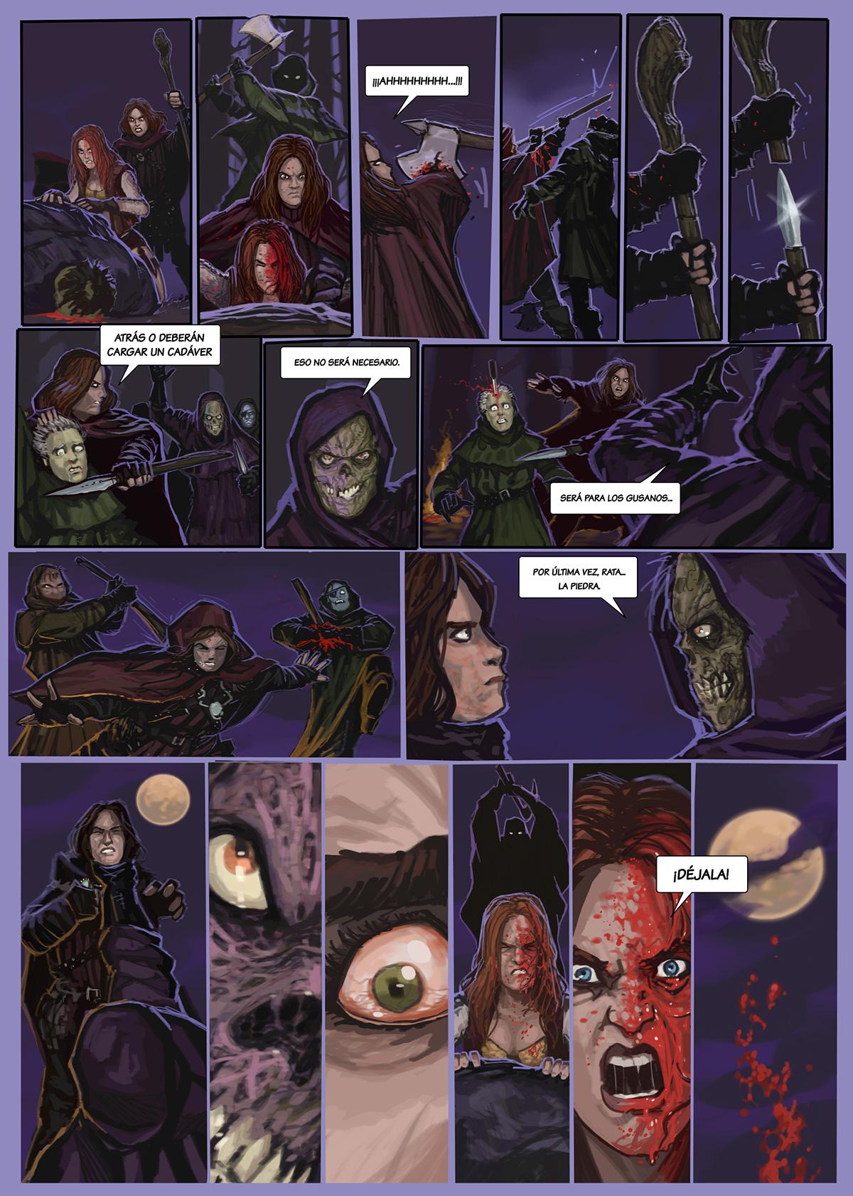 11- Caballeros del Temple - El Comic