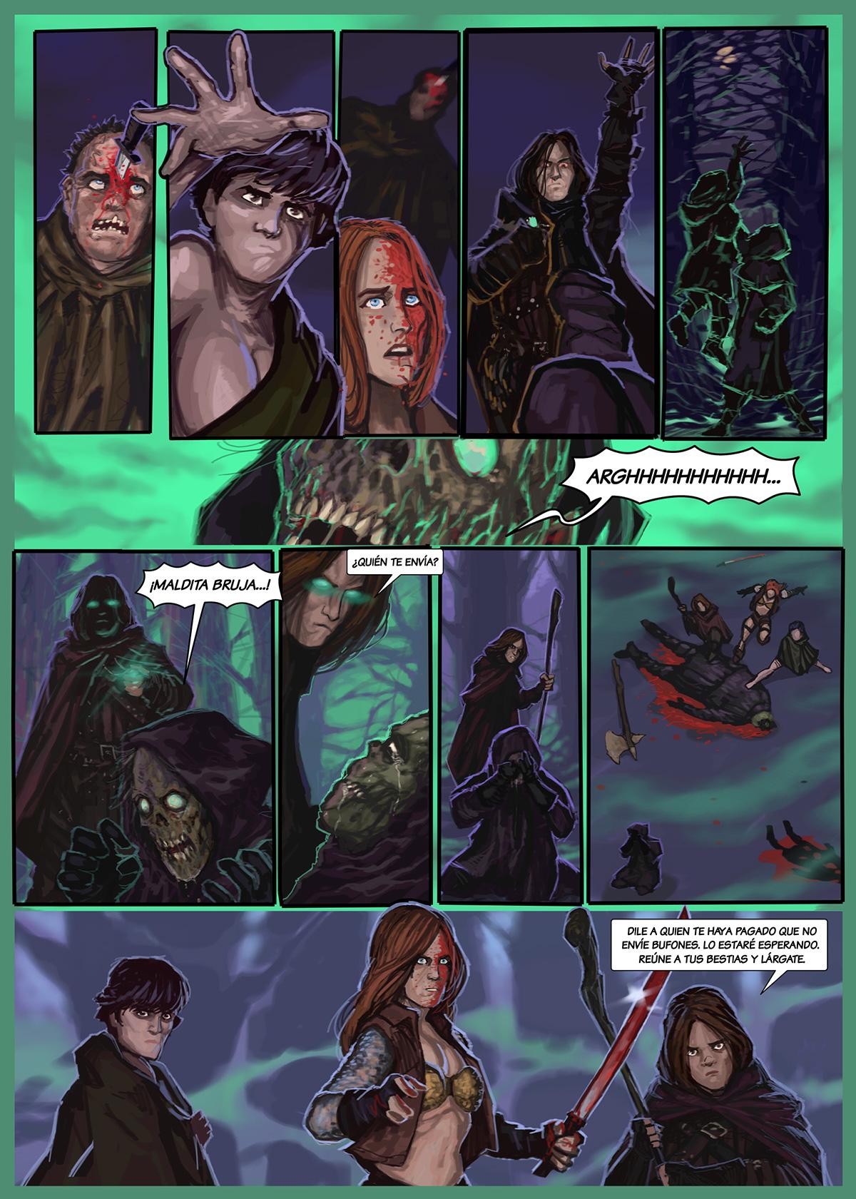 12- Caballeros del Temple - El Comic