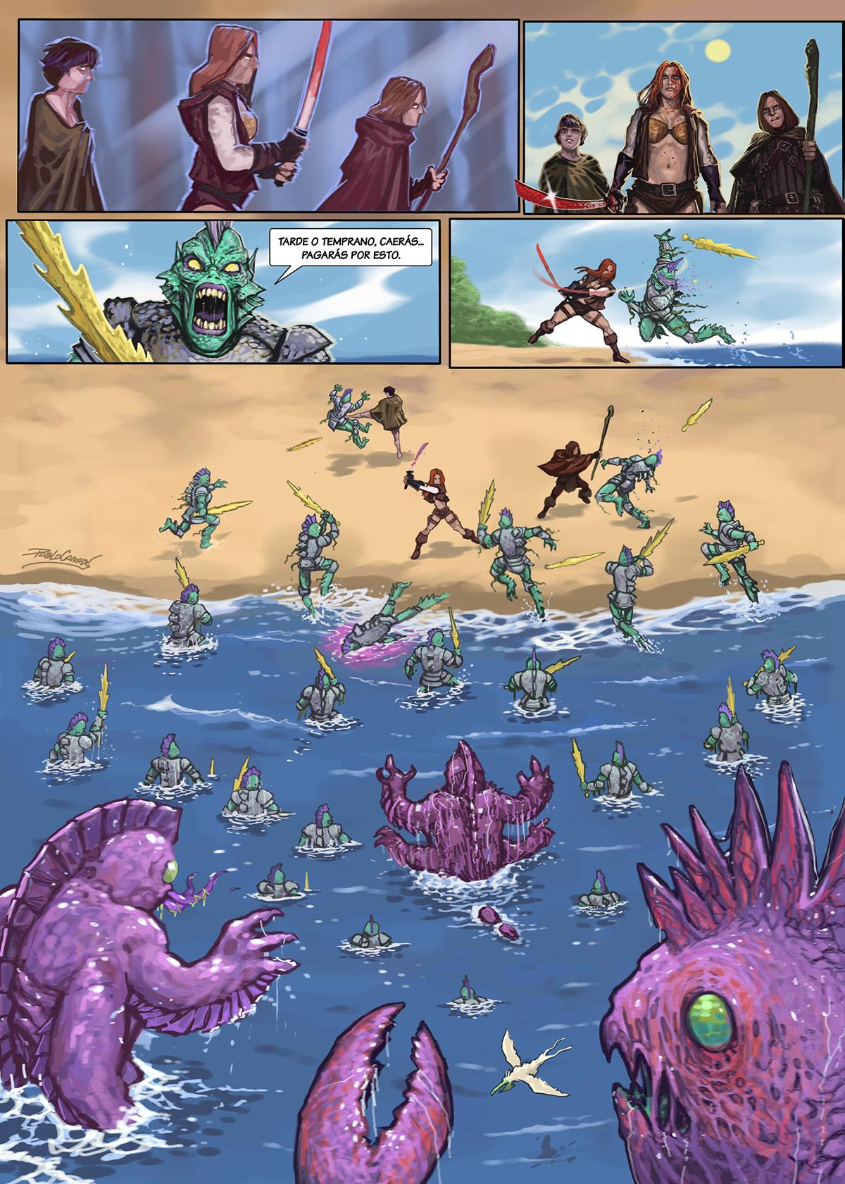 13- Caballeros del Temple - El Comic
